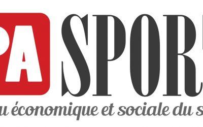 PRESSE | PA SPORT, média sur l'économie et le social dans le sport, parle de nous
